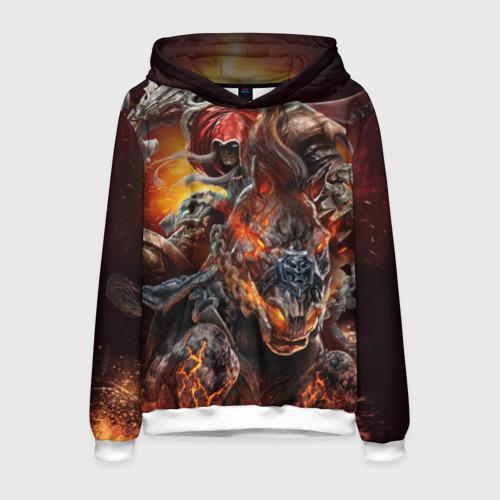 Мужская толстовка 3D Демон-Всадник (Darksiders)