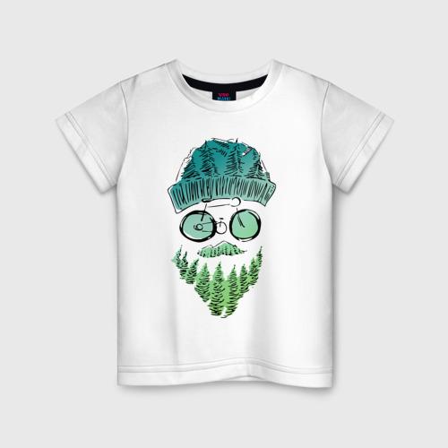 Детская футболка хлопок Mountain man