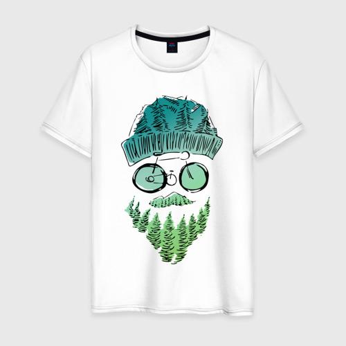 Мужская футболка хлопок Mountain man