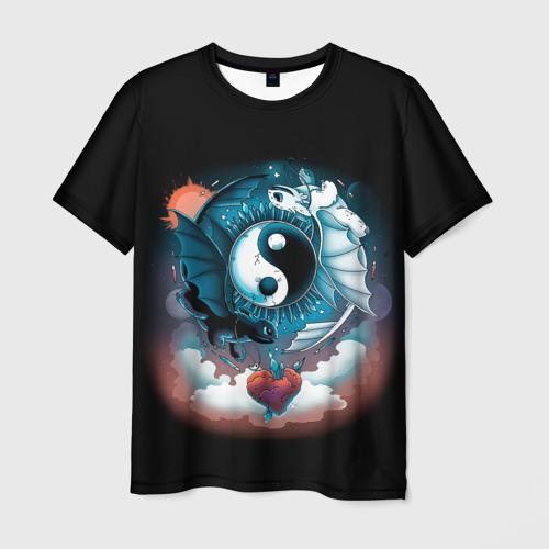 Мужская футболка 3D Фурии