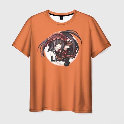 Мужская футболка 3D Часы