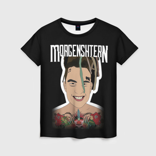 Женская футболка 3D Morgenshtern