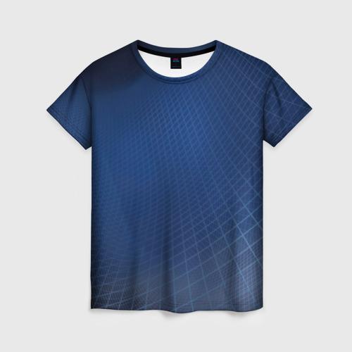 Женская футболка 3D Сеть