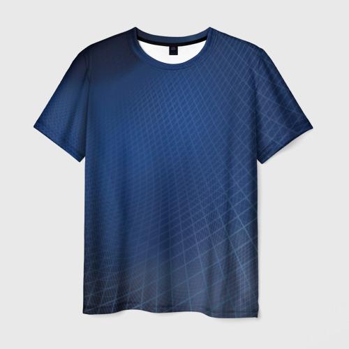 Мужская футболка 3D Сеть