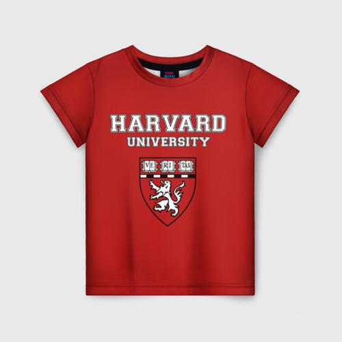 Детская футболка 3D HARVARD