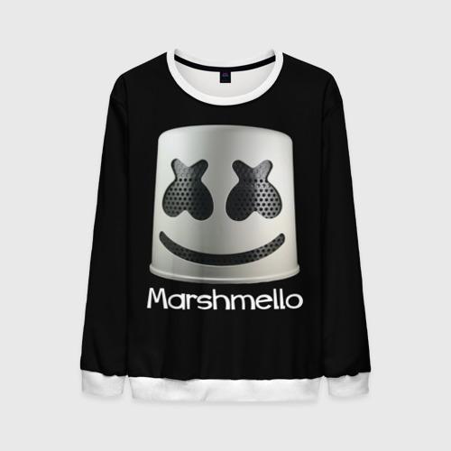Мужской свитшот 3D Marshmello