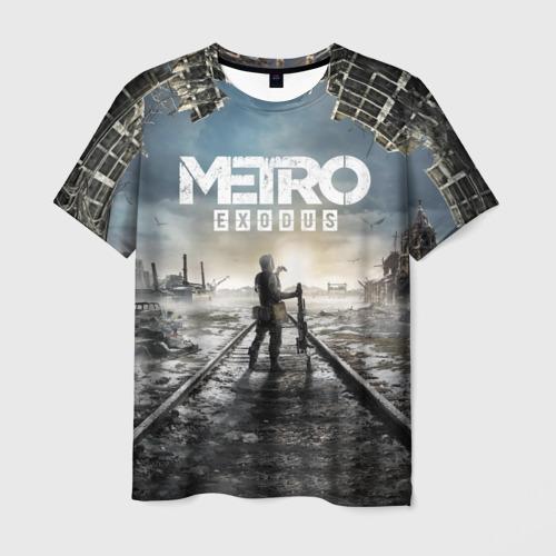 Мужская футболка 3D Metro