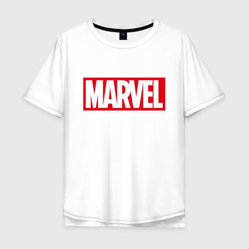 Мужская футболка хлопок Oversize MARVEL