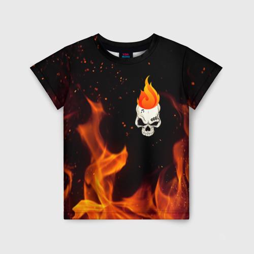 Детская футболка 3D MORGENSHTERN Fire
