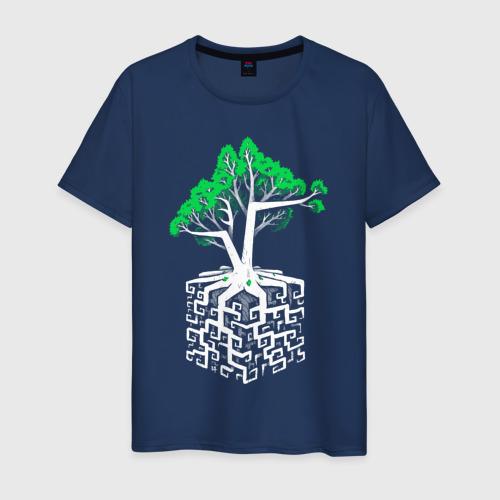 Мужская футболка хлопок Квадратный корень