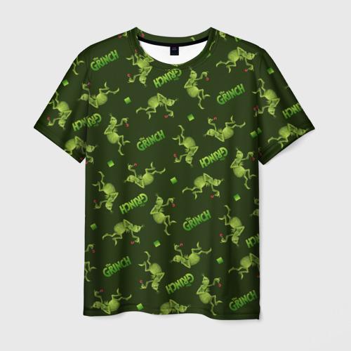 Мужская футболка 3D Grinch