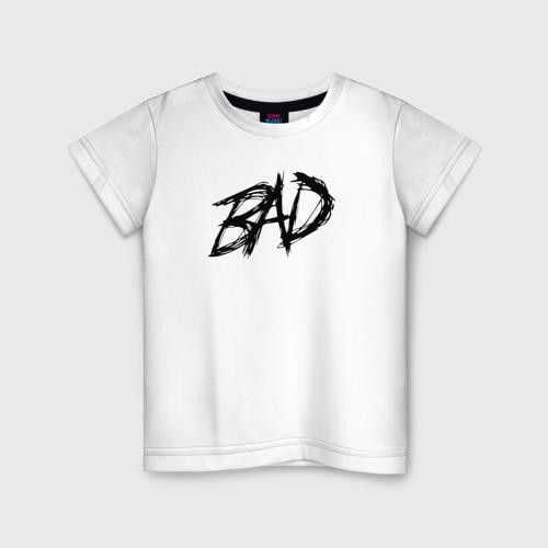 Детская футболка хлопок XXXTENTACION - BAD