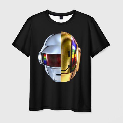 Мужская футболка 3D Daft Punk