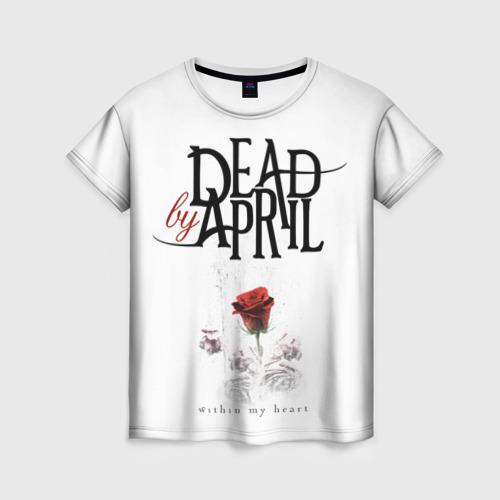 Женская футболка 3D Dead by April