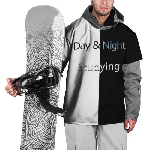 Накидка на куртку 3D День и Ночь Учеба