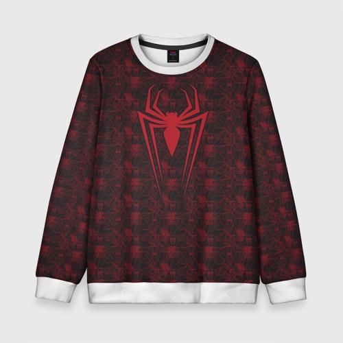 Детский свитшот 3D Spider-Man logo