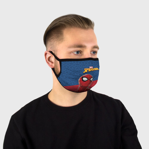 Маска защитная (+5 фильтров) Spider-man