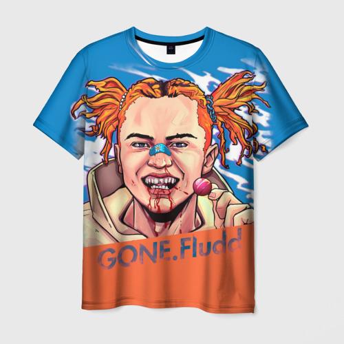 Мужская футболка 3D Gone.Fludd (art)