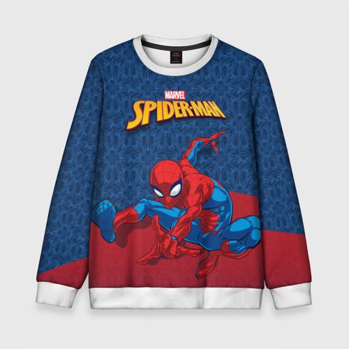 Детский свитшот 3D Человек-паук