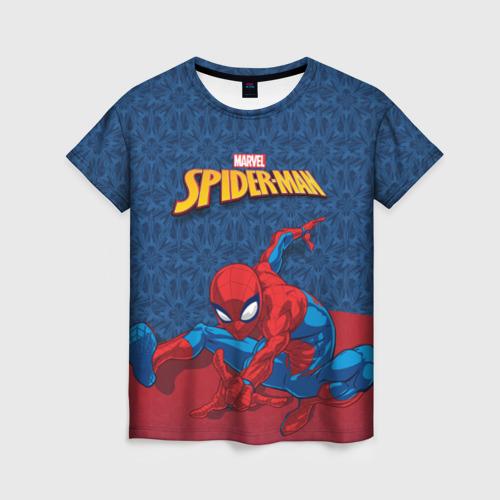 Женская футболка 3D Человек-паук