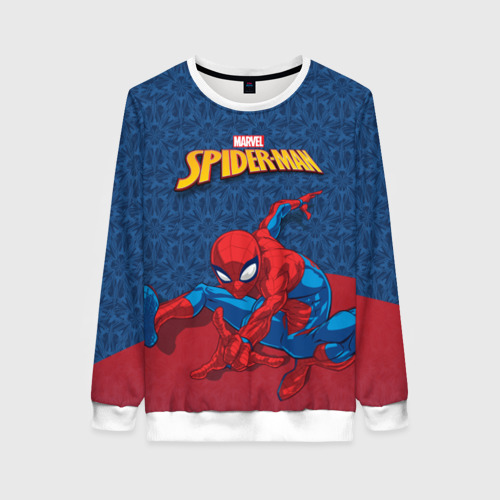 Женский свитшот 3D Человек-паук
