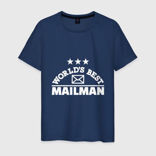 Мужская футболка хлопок Лучший потальон в мире