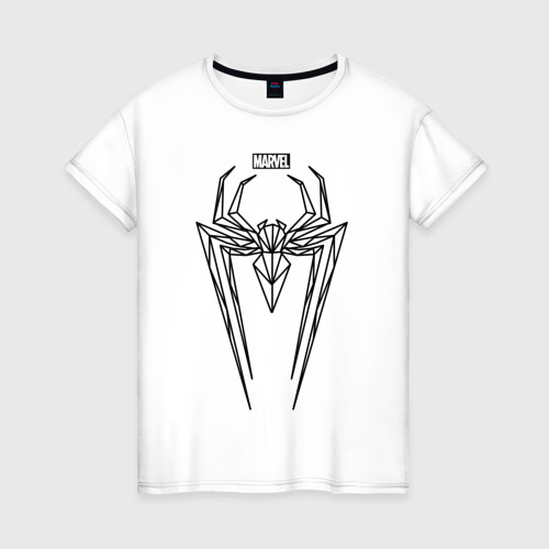 Женская футболка хлопок Spider Man