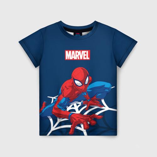 Детская футболка 3D Spider Man