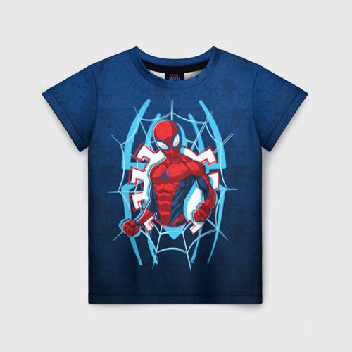 Детская футболка 3D Человек-Паук