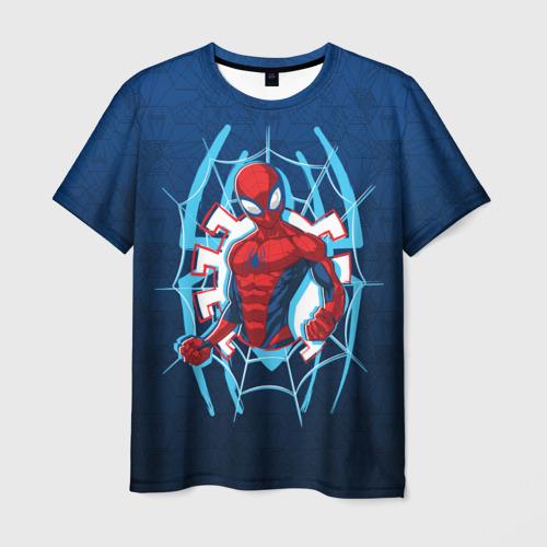 Мужская футболка 3D Человек-Паук