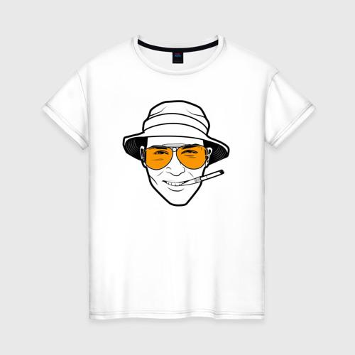 Женская футболка хлопок Страх и ненависть в Лас-Вегасе