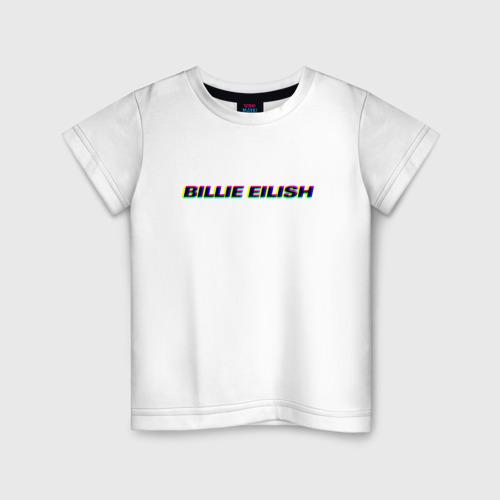 Детская футболка хлопок Billie Eilish