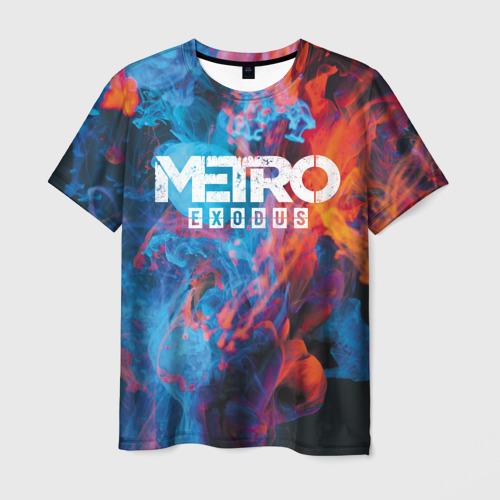 Мужская футболка 3D Metro Fire