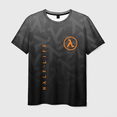 Мужская футболка 3D HALF-LIFE   ХАЛФ-ЛАЙФ