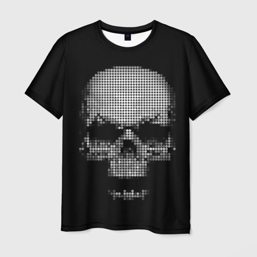 Мужская футболка 3D Череп