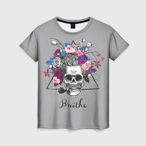 Женская футболка 3D Breathe