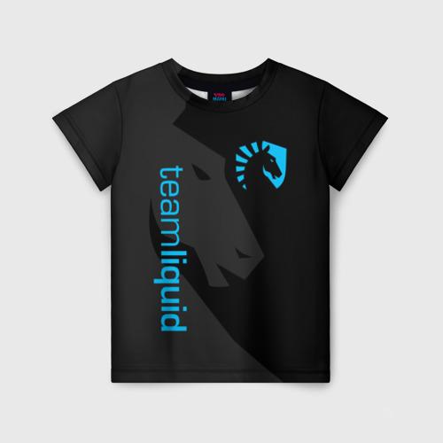 Детская футболка 3D TEAM LIQUID