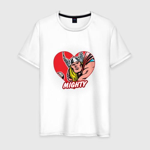 Мужская футболка хлопок Thor heart