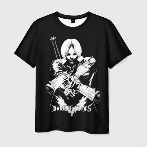 Мужская футболка 3D DMC5 Dante