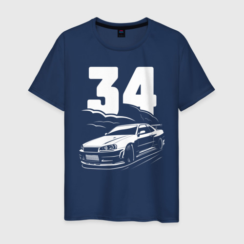 Мужская футболка хлопок R34 DRIFT