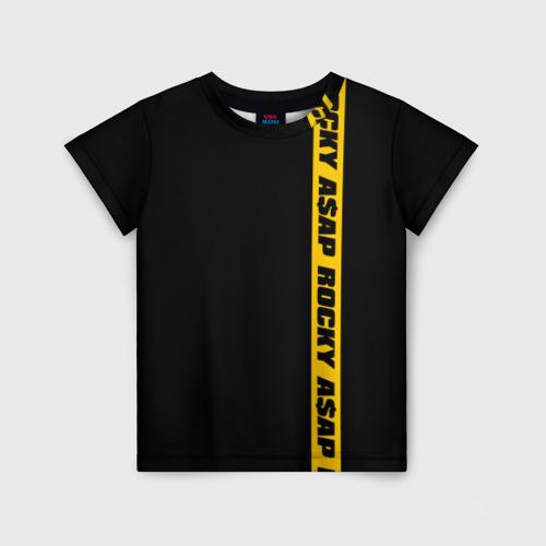 Детская футболка 3D ASAP ROCKY