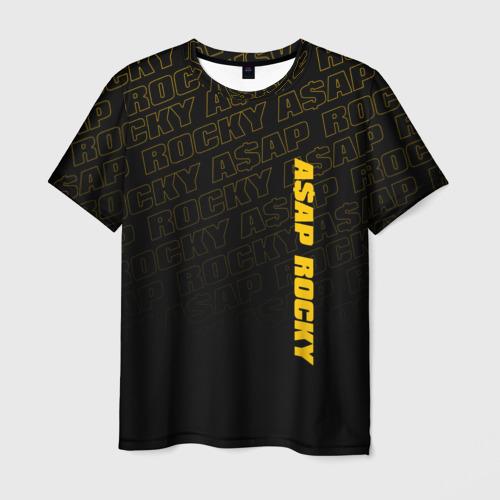 Мужская футболка 3D ASAP ROCKY