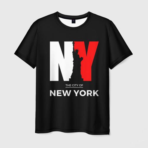 Мужская футболка 3D New York City