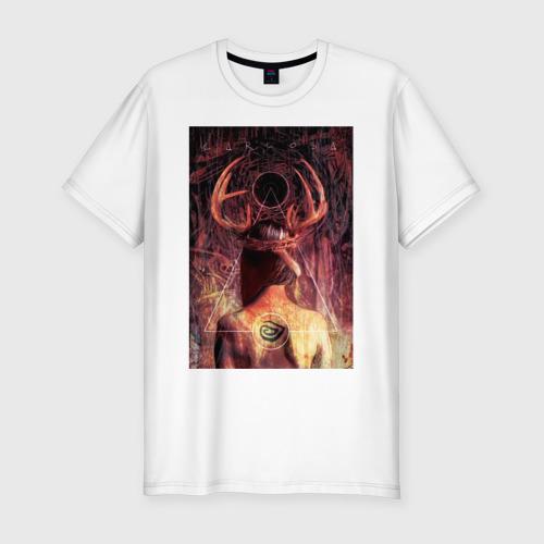 Мужская футболка хлопок Slim True Detective