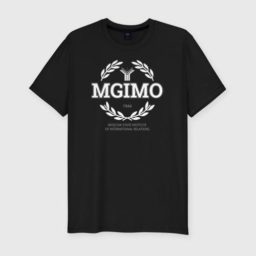 Мужская футболка хлопок Slim MGIMO