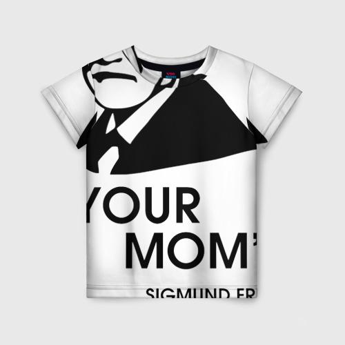 Детская футболка 3D Your Mom