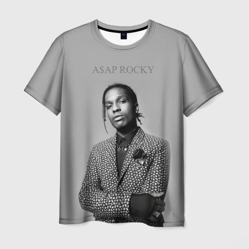 Мужская футболка 3D A$AP ROCKY