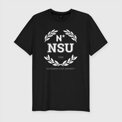 Мужская футболка хлопок Slim NSU