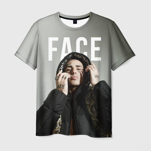 Мужская футболка 3D FACE - SLIME