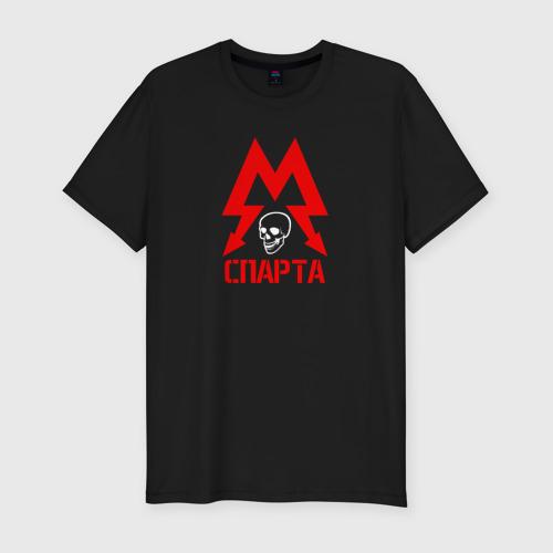 Мужская футболка хлопок Slim METRO СПАРТА